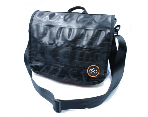 Cycle of Good Kufika Inner Tube Messenger Bag